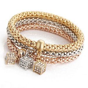 Jewelry - Cube Stretch Bracelet Trio